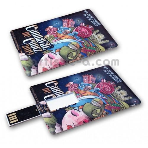Tarjeta USB personalizada