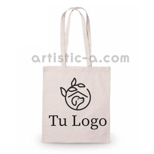 Bolsa algodón personalizada 1 color
