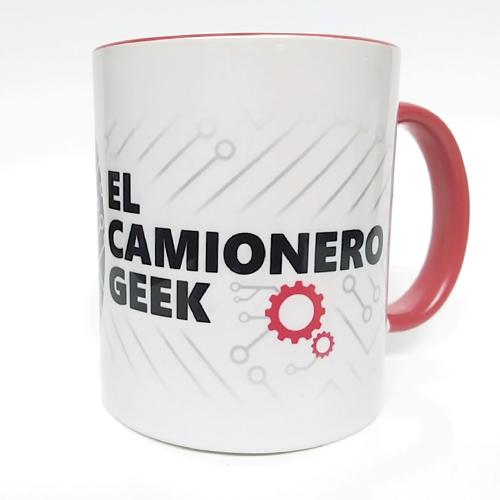 Taza Personalizada de El Camionero Geek