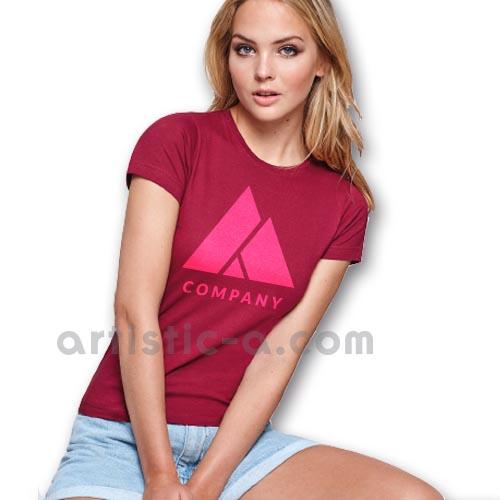 Camiseta de Mujer serigrafiada 1 tinta