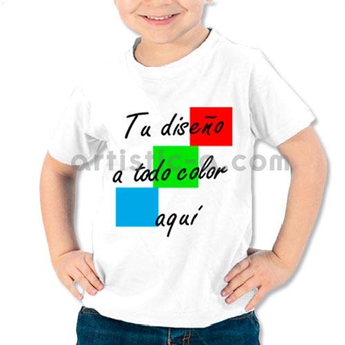 Camiseta de niño personalizada