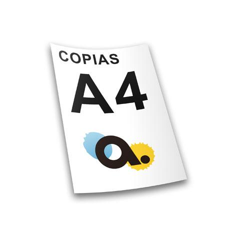 Copias y Fotocopias A4 color