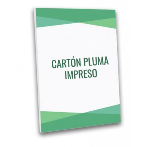 Cartón Pluma Foam impreso con tus fotos y diseños