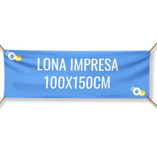 Lona impresa 100 x 150 cm