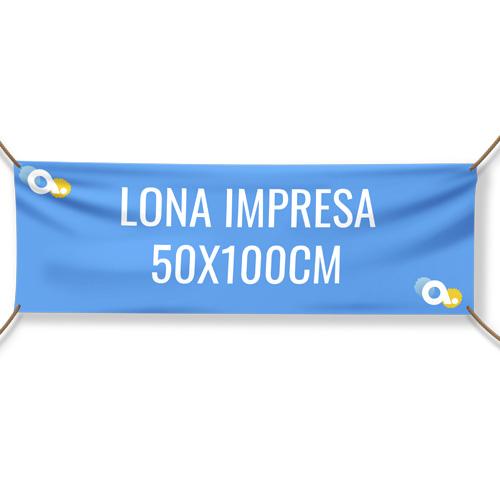 Lona impresa 50 x 100 cm