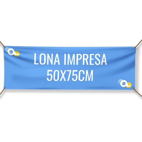 Lona impresa 50 x 75 cm