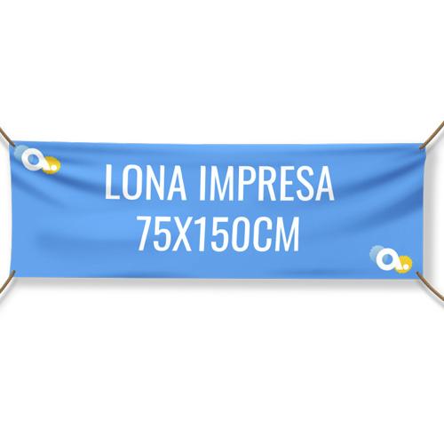 Lona impresa 75 x 150 cm