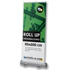 Roll up barato personalizado