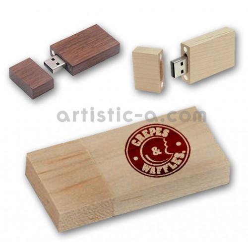 Pendrive madera con imán