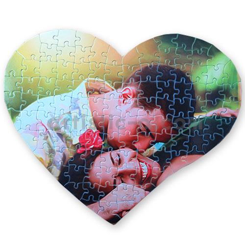 Puzzle corazón de 104 piezas